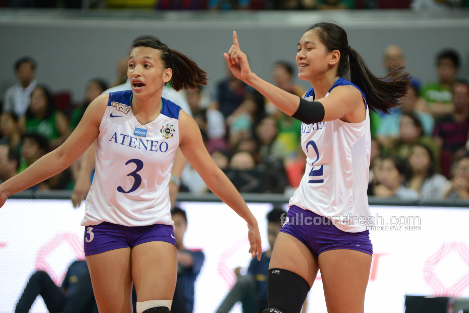 UAAP Season 77: Ateneo tops NU in women's volley opener