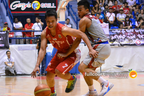 "San Beda's ""four-bigs, one-guard"" attack works wonders"