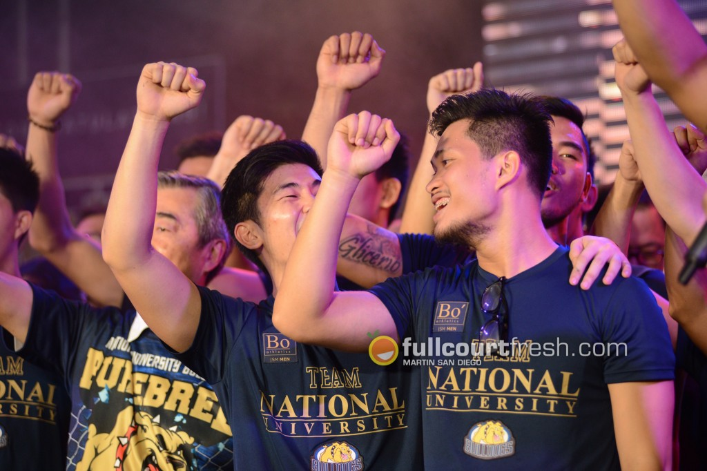 IN PHOTOS: National University holds victory party, celebrates six first semester championships