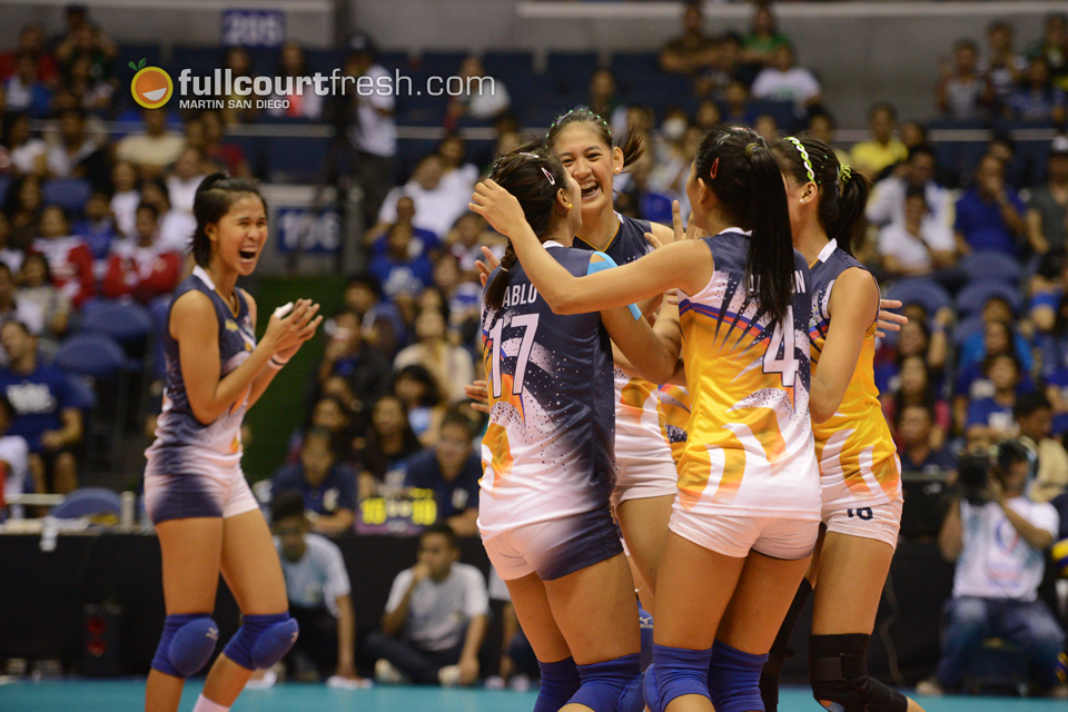UAAP women's volleyball: Singh tows NU to a five-set win vs. UP, ADMU sweep FEU
